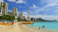 Waikiki Beach | Honolulu | Hawaii | USA (Ben Molloy Photography) Tags: benmolloy ben molloy photography travel nikon d800 hawaii hawai honolulu waikiki