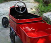little old red truck (BusyBl.Mtns.Grandma) Tags: cyclops peddle car truck