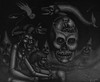 Spook Stories (Tom McKee / Art Guy) Tags: surreal surrealism surrealist visionary visionaryart artvisionary lowbrow drawing dark deviant detailed ink prisma pencil narrative narrativeart art apocalypic