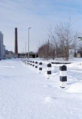 IMGP6966_DxO (heraldofstagnation) Tags: pentax k3ii sigma hsm art 1835 f18 tallinn kultuurikilomeeter linnahall chimney snow winter