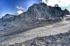 Glacier d'Orny (Peter Goodair) Tags: glacier silhouette montblanc orny