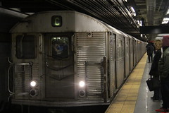 IMG_4845 (GojiMet86) Tags: mta ind nyc new york city subway train 1964 r32 3439 14th street