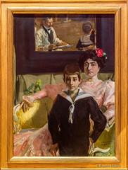 DSC6380 Joaquin Sorolla - Lucrecia Arana y su hijo, 1906, Colección Privada (Ramón Muñoz - ARTE) Tags: joaquín sorolla joaquin pintura obras de pinturas cuadros