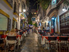 Ready to serve (Dan Österberg) Tags: marbella spain dinner restaurant waiters chairs tables street evening night nightphotography nightlife tourism oldtown