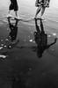 (breakbeatbilly) Tags: couple reflection holdinghands beach ocean water walking engagement sanfrancisco oceanbeach photogarpher