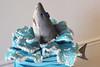 Shark Jumping Figurine Cake (Oakleaf Cakes) Tags: gumpaste figurines
