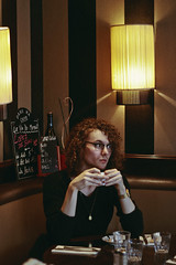 Coffee in Paris with Max (TheJennire) Tags: photography fotografia foto photo canon camera camara colours colores cores light luz young tumblr indie teen people portrait curlyhair coffeetime coffee paris france europe winter malemodel fashion cozy 2018 50mm