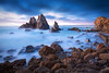 Coastal Atmosphere || CAMEL ROCK || NSW (rhyspope) Tags: australia aussie camel rock bermagui nsw new south wales narooma eurobodalla travel tourism tourist rhys pope rhyspope canon 5d mkii waves rocks water sea ocean long expo exposure sky clouds sunrise sunset morning amazing
