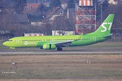 20170208_VP-BDF (sn_bigbirdy) Tags: dus düsseldorfflughafen eddl s7 boeing landing vpbdf siberiaairlines b737800 newcolors winglets