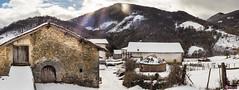 Snowy Arrarats (www.eiderphoto.com) Tags: sonya7 ilce7 nfd5014 arrarats navarra basaburua snowy pano eiderphoto spain wintertime