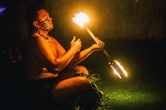 Night on Fire (Thomas Hawk) Tags: america finnestate hawaii makena maui turtlepointestate usa unitedstates unitedstatesofamerica wailea waileaelua fire firedancer firedancing kihei us