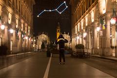 Via Roma, Torino - Italy (Marconerix) Tags: torino italia italy turin downtown centro street urban night bynight lucidartista lights christmas