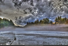 Transmutation from the world. (Pearce Levrais Photography) Tags: ice frozen fog canon 7d markii hdr landscape cloud