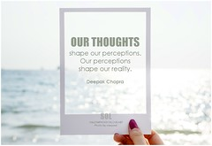 Deepak Chopra Our thoughts shape our perceptions. Our perceptions shape our reality (symphony of love) Tags: deepakchopra positiveattitude positivethinking positivethoughts positivequote positive bepositive choosetobepositive thinkpositive thinkingpositive quoteonpositivethinking picturequoteonpositivethinking thoughts symphonyoflove sol omrekindlingthelightwithin om quotation quote quoteoftheday quotetoliveby quotes qotd inspirationalquote inspirational inspiringquotes inspiration motivationalquotes motivatingquotes motivation dailymotivation dailyinspiration dailyquote potd picturequote picture pictureoftheday pictures