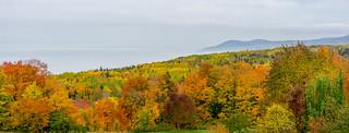 Les couleurs de l'automne à Charlevoix