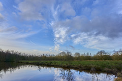 Ruiten Aa (Jos Mecklenfeld) Tags: wollinghuizen ruitenaa westerwolde groningen netherlands landscape landschap clouds wolken river rivier nature natuur winter sonya6000 sonyilce6000 sonyepz1650mm selp1650 nl