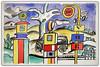 """""""La Pompe à essence"""" 1953-1955, Fernand Léger, Exposition Fernand Léger (1881-1955) """"Beauty is Everywhere"""" """"La Beauté est partout"""", Bozar, Bruxelles, Belgium (claude lina) Tags: claudelina belgium belgique belgïe bruxelles brussel exposition peinture painting fernandléger bozar palaisdesbeauxartsdebruxelles labeautéestpartout beautyiseverywhere lapompeàessence"""