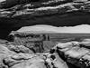 Mesa Arch - Canyonlands National Park (JMFusco) Tags: utah mesaarch blackandwhite canyonlands national park nps