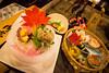 Ryokan dinner in Yunishigawa, Nikko - Japan (Marconerix) Tags: ryokan nikko giappone japan hotel traditional traditionalhotel albergo pace riposo onsen legno giapponese dinner maple leaf mapleleaf sushi cena fogliadacero