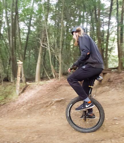 Ethan on the bonus trail