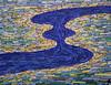 Sinine nähtus. 2018. (Seerin Kama) Tags: painting blue phenomenon acrylic canvas artwork art