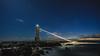 A lighthouse under the starry sky (aotaro) Tags: lighthouse sea ilce7m2 kanagawa fe1635mmf4zaoss seashore atdawn dawn jogashimaisland starrysky night stars ocean japan waves