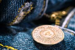 Venus (LoomahPix) Tags: flickr macromondays blue button closeup clothes denim fasteners jeans levi macro macrophotography zip zipper