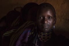 When You're Smiling (alfienero) Tags: ethiopia omo river humanity portratirs tribal tribe