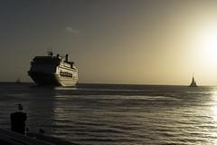 Ahoi :-) (frank.gronau) Tags: licht light stimmung keywest miami ocean ozean meer schiff sun sonne sonnenuntergang sunset sony alpha gronau frank