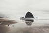 misty November day (..Ania.) Tags: beach coast cannonbeach oregon haystackrock autumn fog mist pacificcoast ocean sand landscape