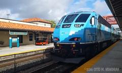 Tri-Rail, TRCX 824 Ft. Lauderdale, Fla., 2016 (ovondrak) Tags: trcx florida ftlauderdale commuter trirail csx