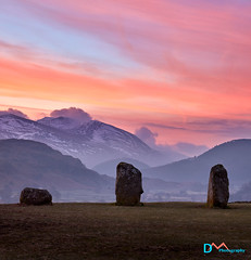 Guardians of the Vale (Dave Massey Photography) Tags: castleriggstonecircle keswick lakedistrict dawn sky cumbria