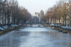 Skating in the frozen canals of Amsterdam, Holland (George Pachantouris) Tags: amsterdam holland netherlands ice cold winter frozen freeze prinsengracht herengracht keizersgracht skating skate fun