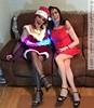 Christmas Day 2017 (Girly Emily) Tags: crossdresser cd tv tvchix tranny trans transvestite transsexual tgirl tgirls convincing feminine girly cute pretty sexy transgender boytogirl mtf maletofemale xdresser gurl glasses dress tights hose hosiery highheels indoor stilettos