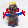 Eddie (stitchling) Tags: toastypocketcreatures knitty eddie