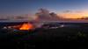 Kilauea volcano at sunset (802701) Tags: 2017 201712 america december2017 hi hi2018 hawaii hawaiiisland kona thebigisland usa unitedstates unitedstatesofamerica travel volcano kilauea kilaueavolcano