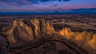 Bird View from Smith Rock Park