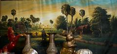 Simple village life (kuntheaprum) Tags: cambodianarts crafts painting angkor nikon d750 samyang 85mm f14 nearyrothkunthea