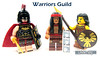 Warriors Guild (WhiteFang (Eurobricks)) Tags: lego minifigures cmfs movie blockbuster dc comics heroes bad guys baddies hero characters city town superheroes costume collections collectable fleshie licensed batman superman