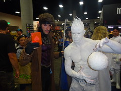 Gambit and Iceman (Sconderson Cosplay) Tags: comic con san diego sdcc 2016 cosplay gambit iceman xmen