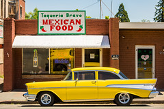 Mexican Food (Thomas Hawk) Tags: america belair california chevrolet chevroletbelair chevy chevybelair mendocinocounty northerncalifornia taqueriabravo usa unitedstates unitedstatesofamerica willits automobile car restaurant us fav10 fav25 fav50 fav100