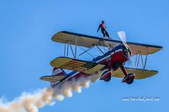 Biplane Wing Walker (tclaud2002) Tags: biplane airplane aircraft aviation wingwalker stearman stuntplane airshow stuartairshow stuart florida usa