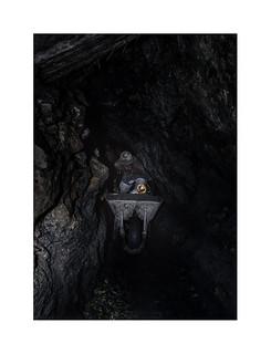 In the mine. 4  ( Potosi ) 1991