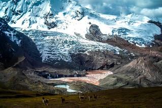 Landscape of Salkantay