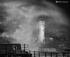 CO1A6153 (chris fearnehough) Tags: lighthouse storm stormchaser wirral newbrighton perchrock waves