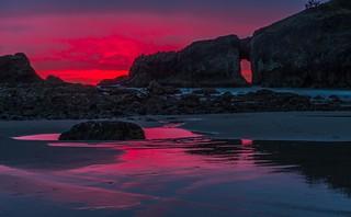 Olympic Peninsula Sunset