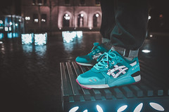 """Asics Gel Lyte III x PYS / Bait """"Teal Dragon"""" (b_represent) Tags: asics asicsgellyteiii asicsgellyte3 gellyteiii gellyte3 sneaker sneakers tealdragon bait pys pickyourshoes"""