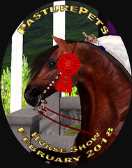 February 2018 PasturePets Horse Show Winners (honeyheart1) Tags: horse realhorse pasturepet eliteequestrian bestinshow bis rbis ribbon trophy sl secondlife