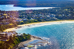 Culburra Beach (Andy Hutchinson) Tags: australia nsw aerial culburrabeach tilburycove newsouthwales au
