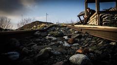 Abandoned rails (_D4RK_) Tags: coal colliery level drift mine driftmine mining miner coaling abandoned industry